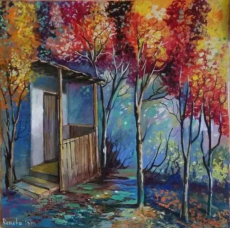 Landscape - 50 x 50cm