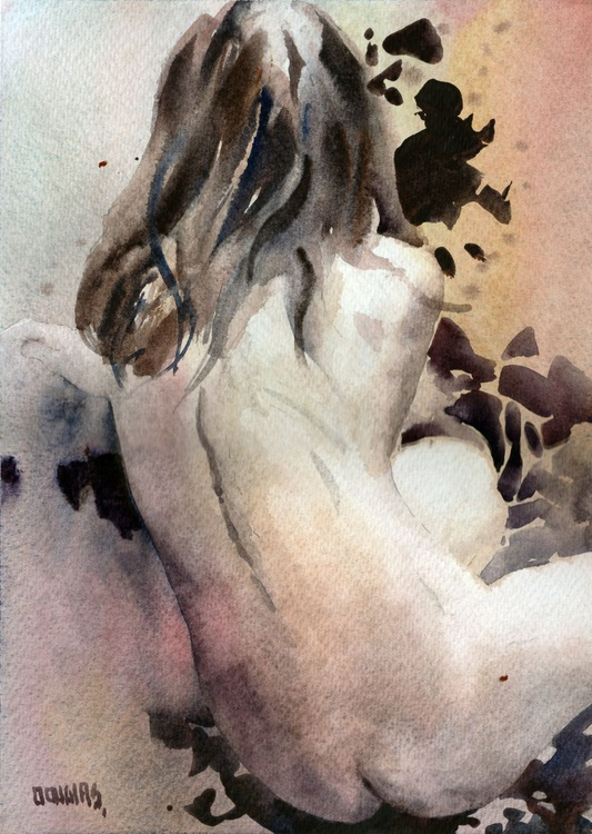 'Nude from the Back', No 2 - Image 0