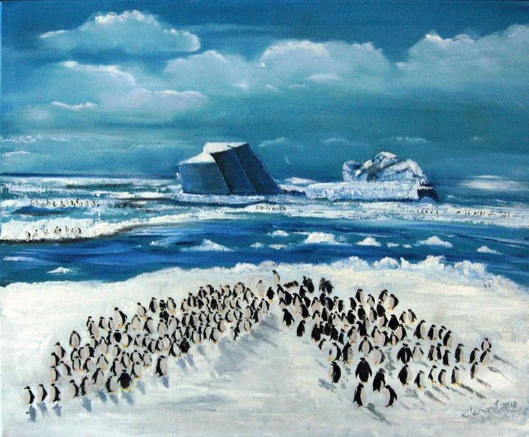 100 Penguins - Image 0