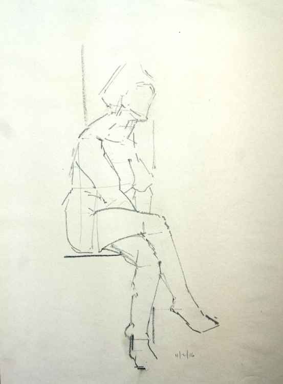 Life Drawing No 26 -