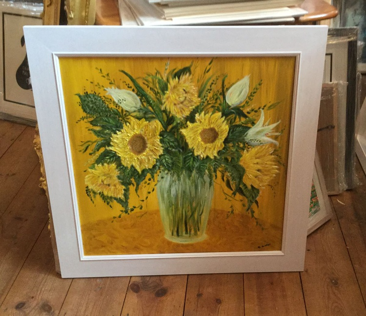 SUNFLOWERS - Summer in a vase - Image 0