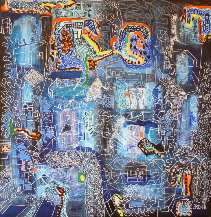 Hommage à Jean Dubuffet 6 - Image 0