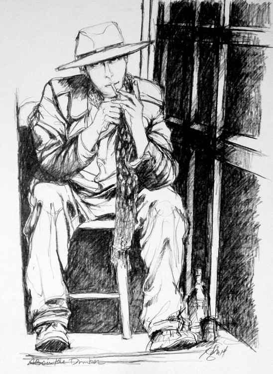 The Absinthe Drinker:  Artist Intense
