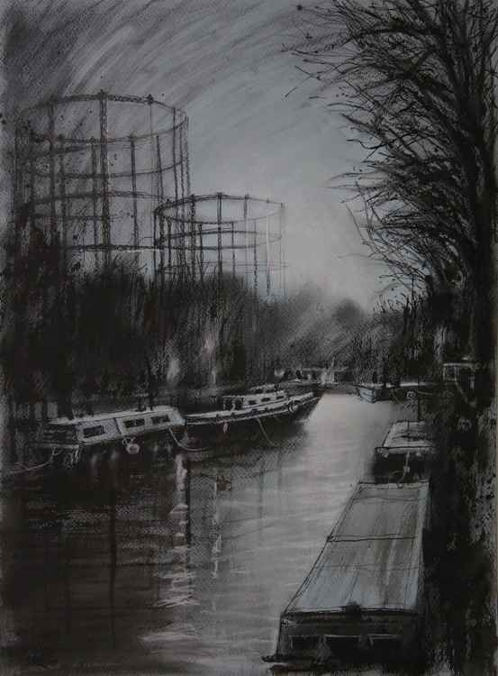 Gas holders at Regents canal