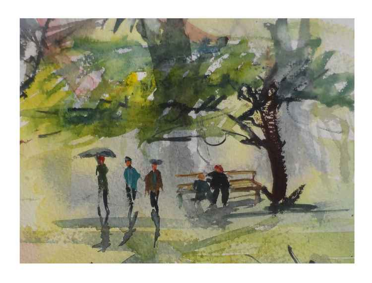 Landscape (Mini Painting) -