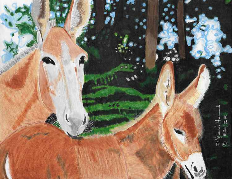 Two Mules -