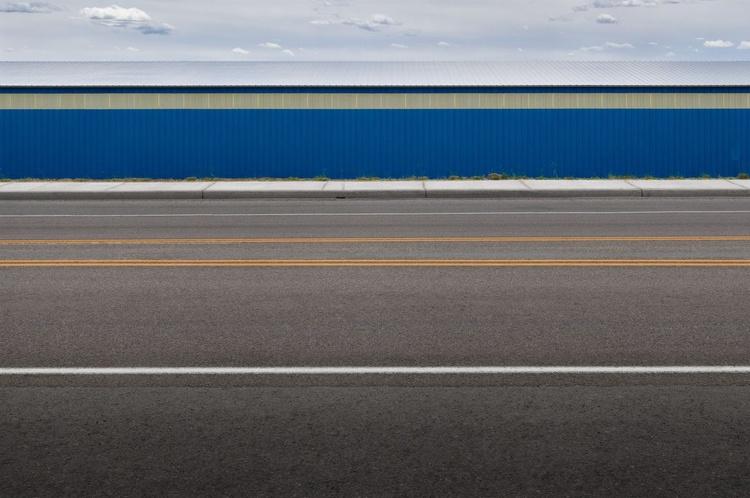 Straight Lines (119x84cm) - Image 0
