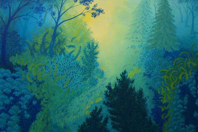Blue Forest No 2 -