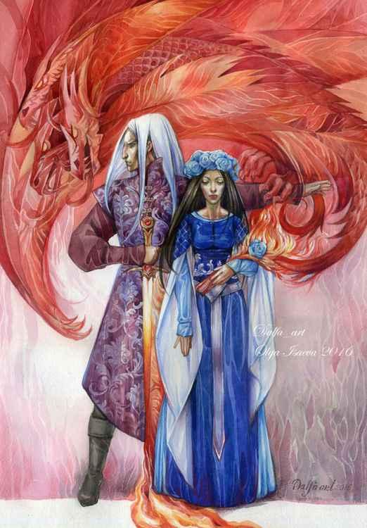 Rhaegar Targarien and Lyanna Stark -