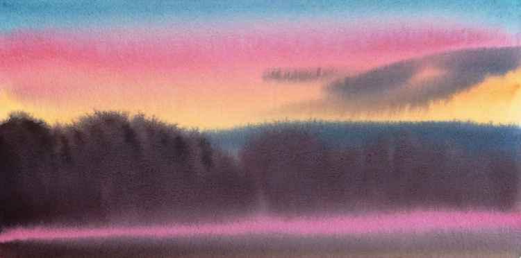 Sunset, Westmoreland -