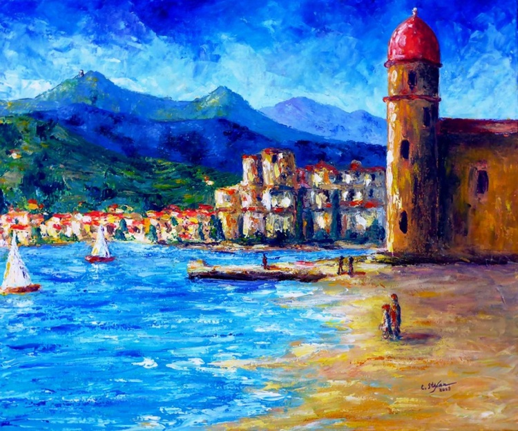 Collioure Lighthouse and Castle (France) - Image 0