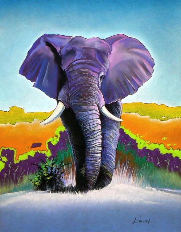 Elephant colorful - Image 0