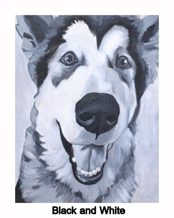 Custom Pet Portrait 9x12 - Image 0