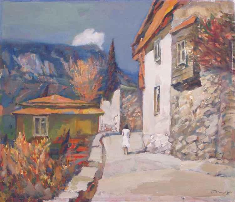 Street in Gurzuf