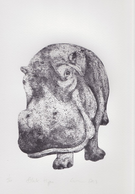Black Hippo - Image 0