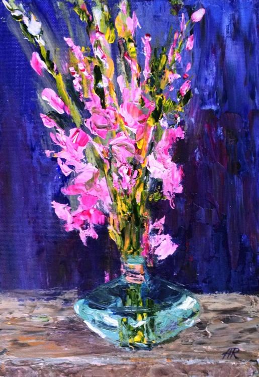 Pink Gladioli - Image 0