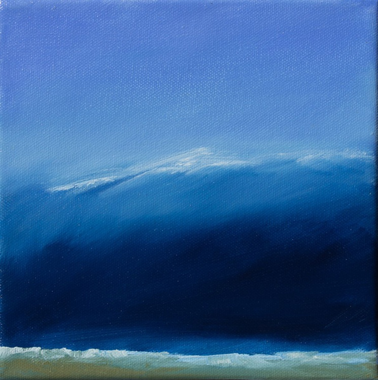 The wave - small size 20X20cm - Image 0