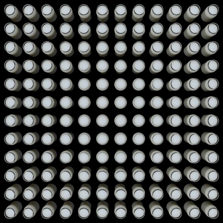 144 Jars of Yogurt No. 2 (perspective view) - Image 0