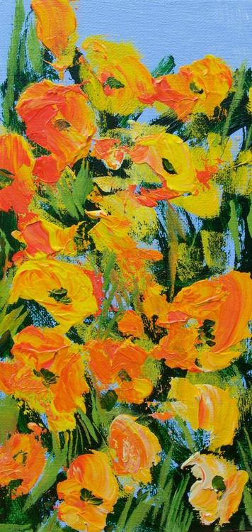 Coughton Court Garden 6 x 12  inches - Image 0