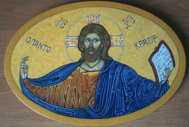 Icon Christ Pantokrator -
