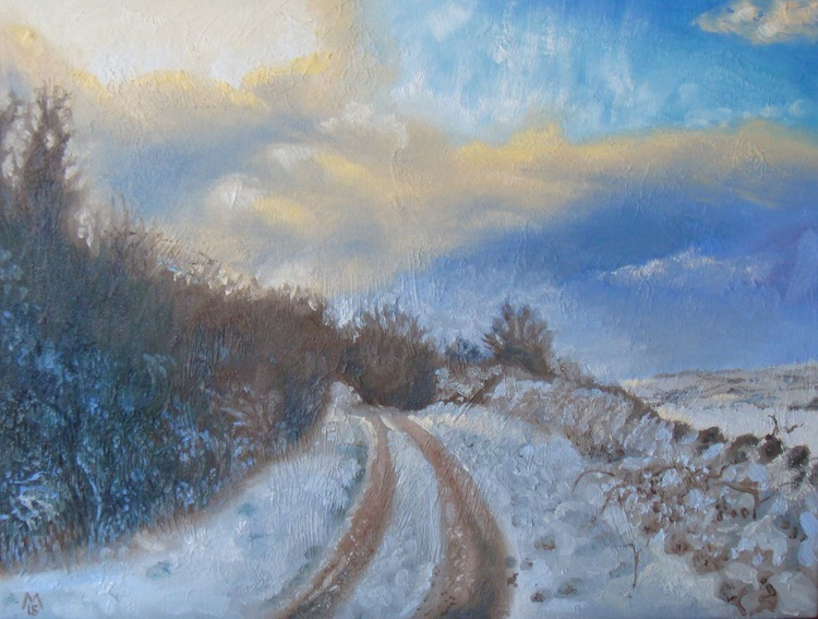 Snowy winter afternoon - Image 0