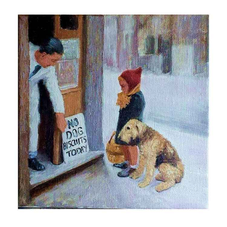 Moments back in time - No dog biscuits today