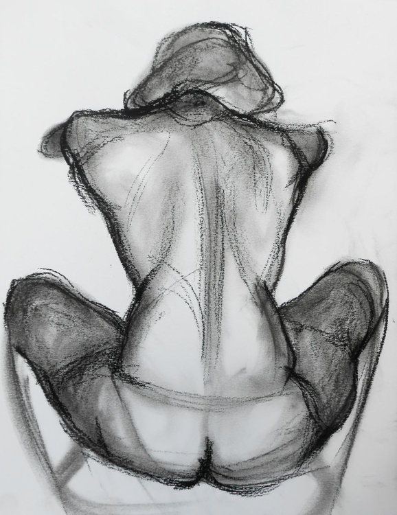 Nude from the back - Image 0