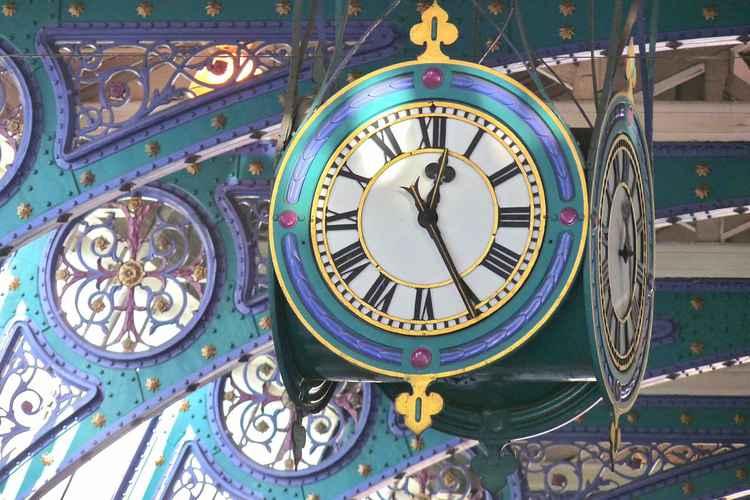 Clock at Smithfield Market