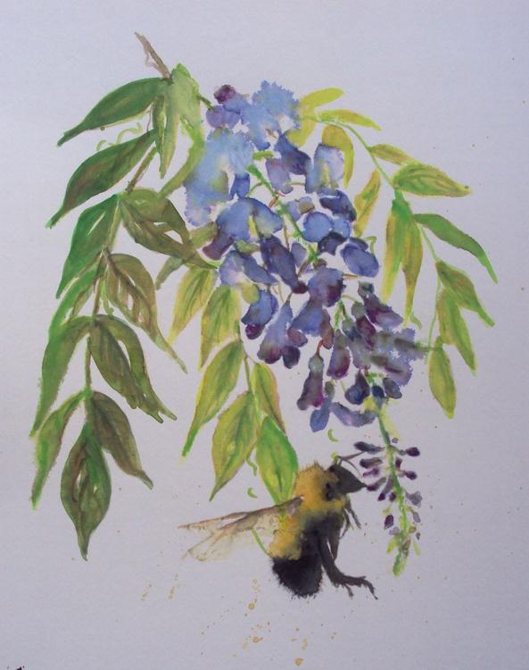 Bee Wisteria - Image 0