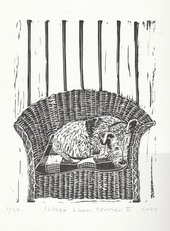 Lloyd Loom Terrier II - Image 0