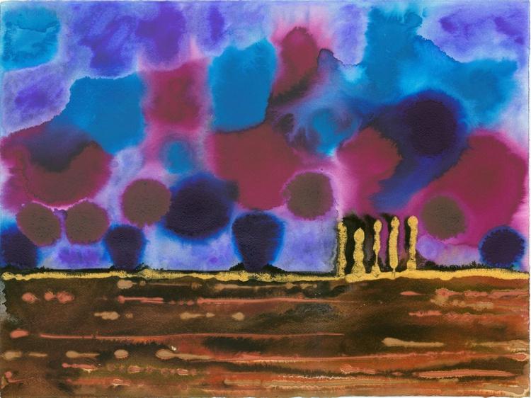 "On The Plain - 9 - ""Blue Playground"" - Image 0"