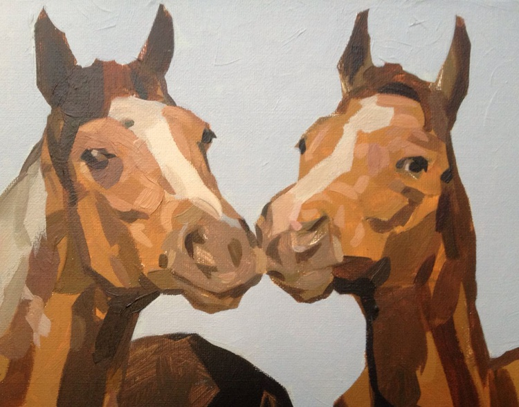 Two Horses - Image 0
