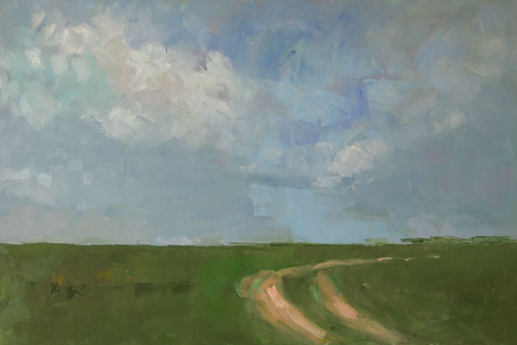 Track at the Long Furlong/Skyscape - Image 0
