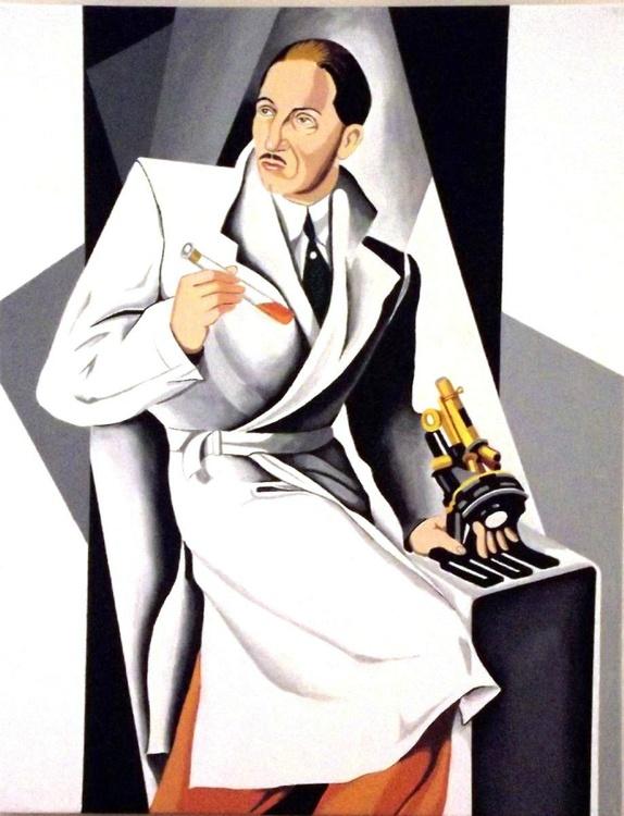 Portrait of Dr. Boucard - reproduction - Image 0
