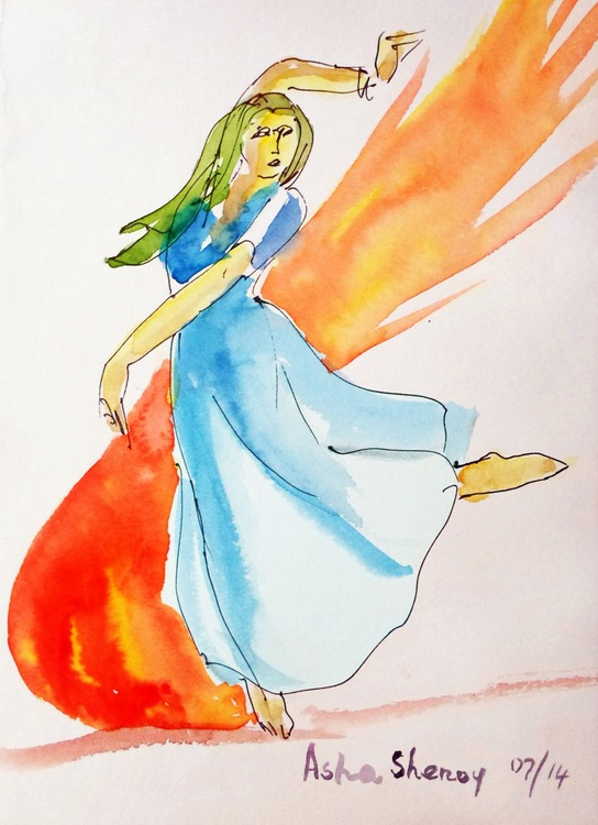 The Blazing dancer - Image 0
