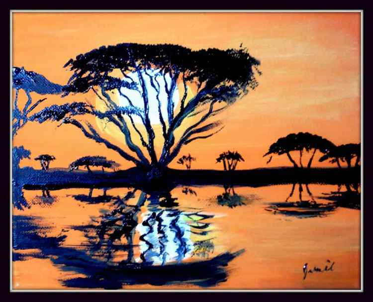 """African Sunset"" -"
