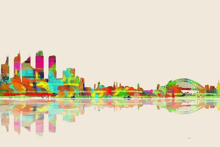 Sydney Skyline 2 -