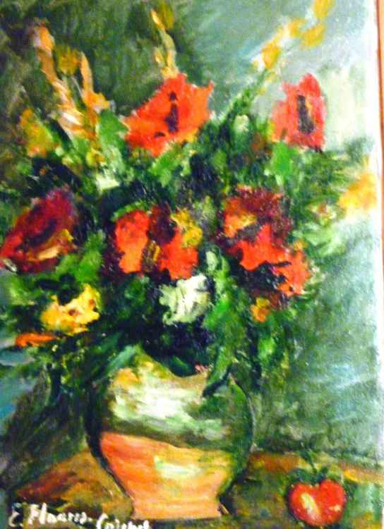 Bouquet of poppies -