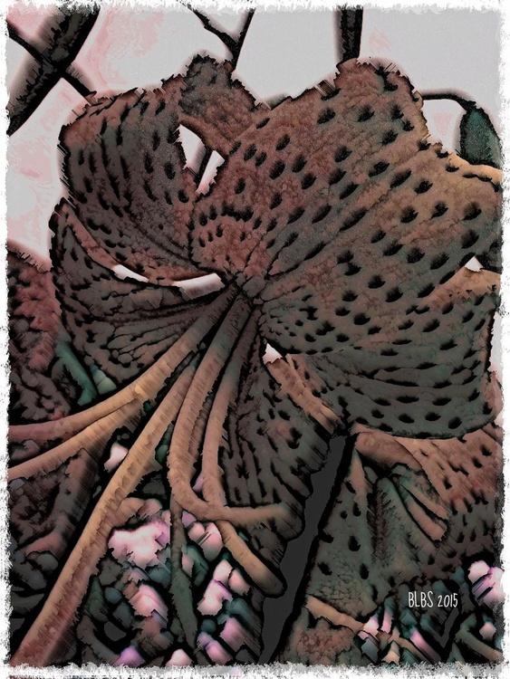 Retro Tiger Lily - Image 0