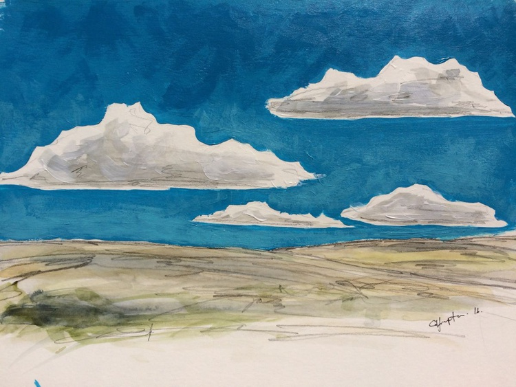 Four clouds -March - Image 0