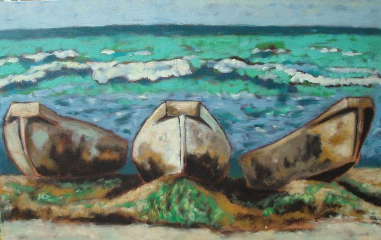 """Three Boats"" - Image 0"