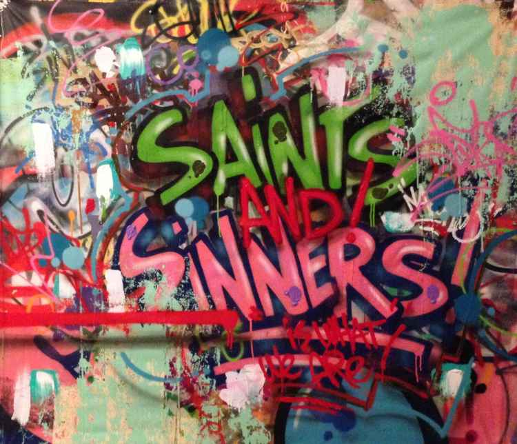 'Saints And Sinners Is What We Are'
