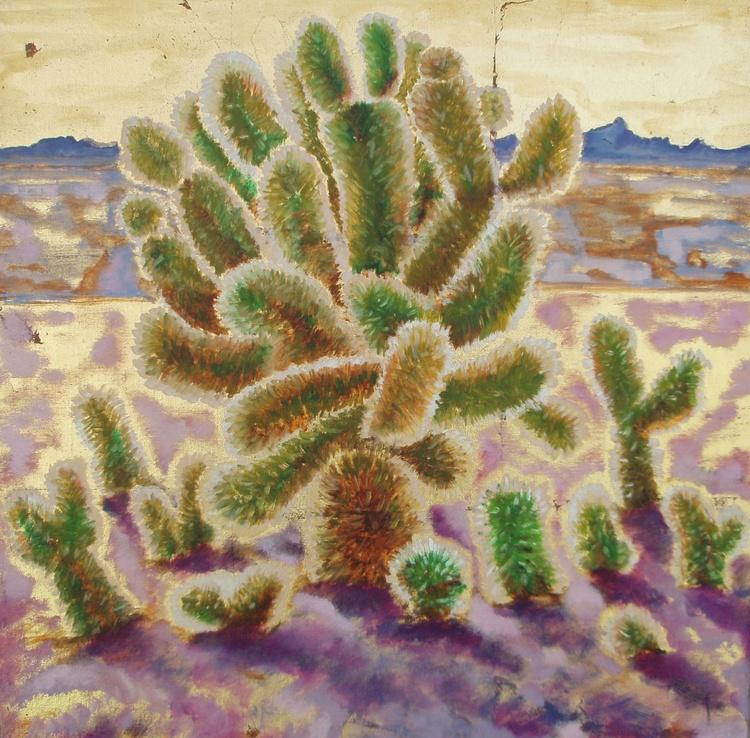 """Desert Botanical - Teddy Bear Cholla"" - Image 0"