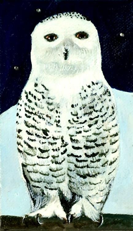 Minature Snowy Owl 1 - Image 0