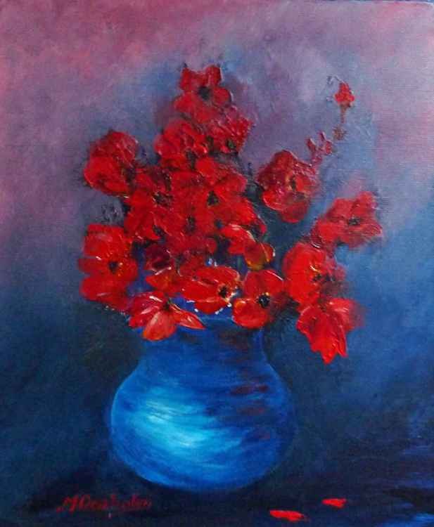 Bowl of Poppies II