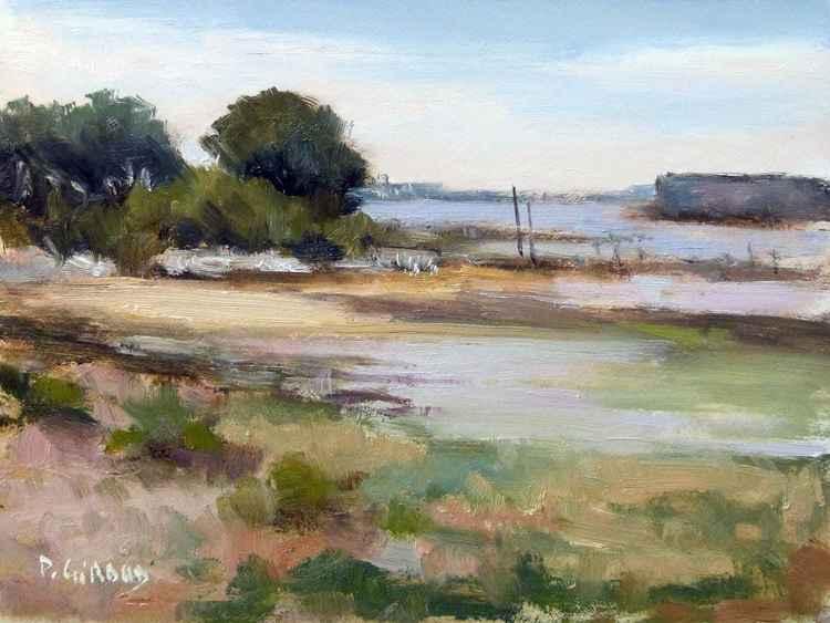 Low Tide at Aix's Island -