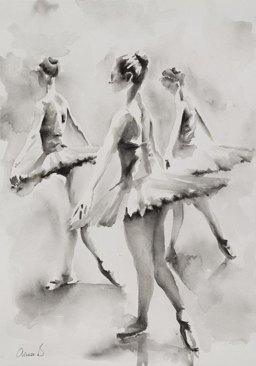 Three Ballerinas - Image 0