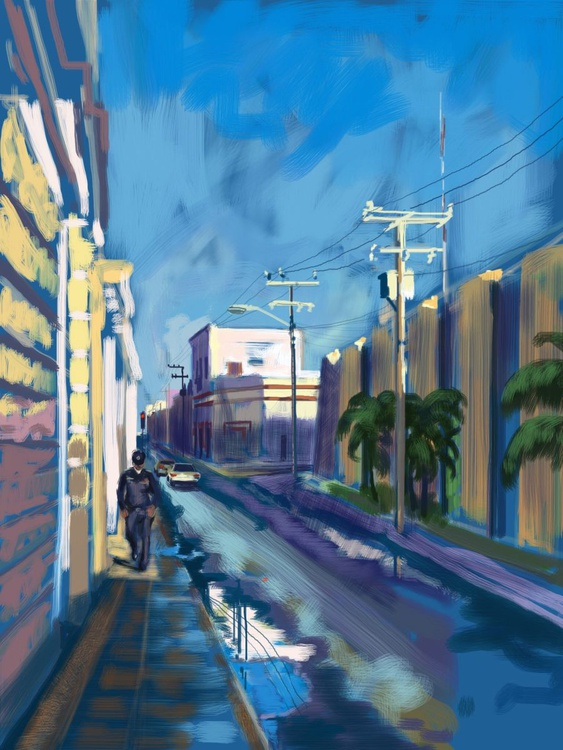 The Morning After the Rain, Merida, Mexico - Image 0
