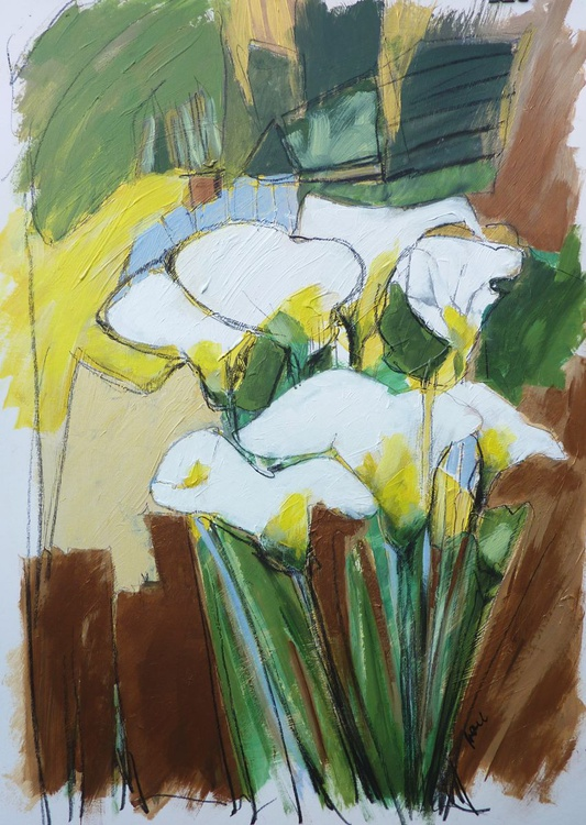 Afternoon Lillies - Image 0