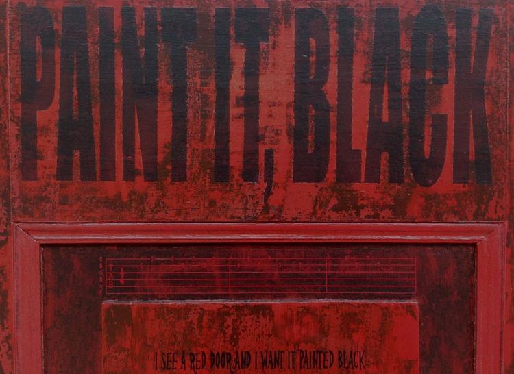 PAINT IT, BLACK (THE ROLLING STONES) - Image 0